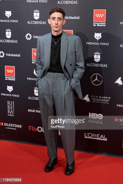 Enric Auquer attends the 'FEROZ' awards 2020 Red Carpet photocall at Teatro Auditorio Ciudad de Alcobendas in Madrid Spain on Jan 16 2020