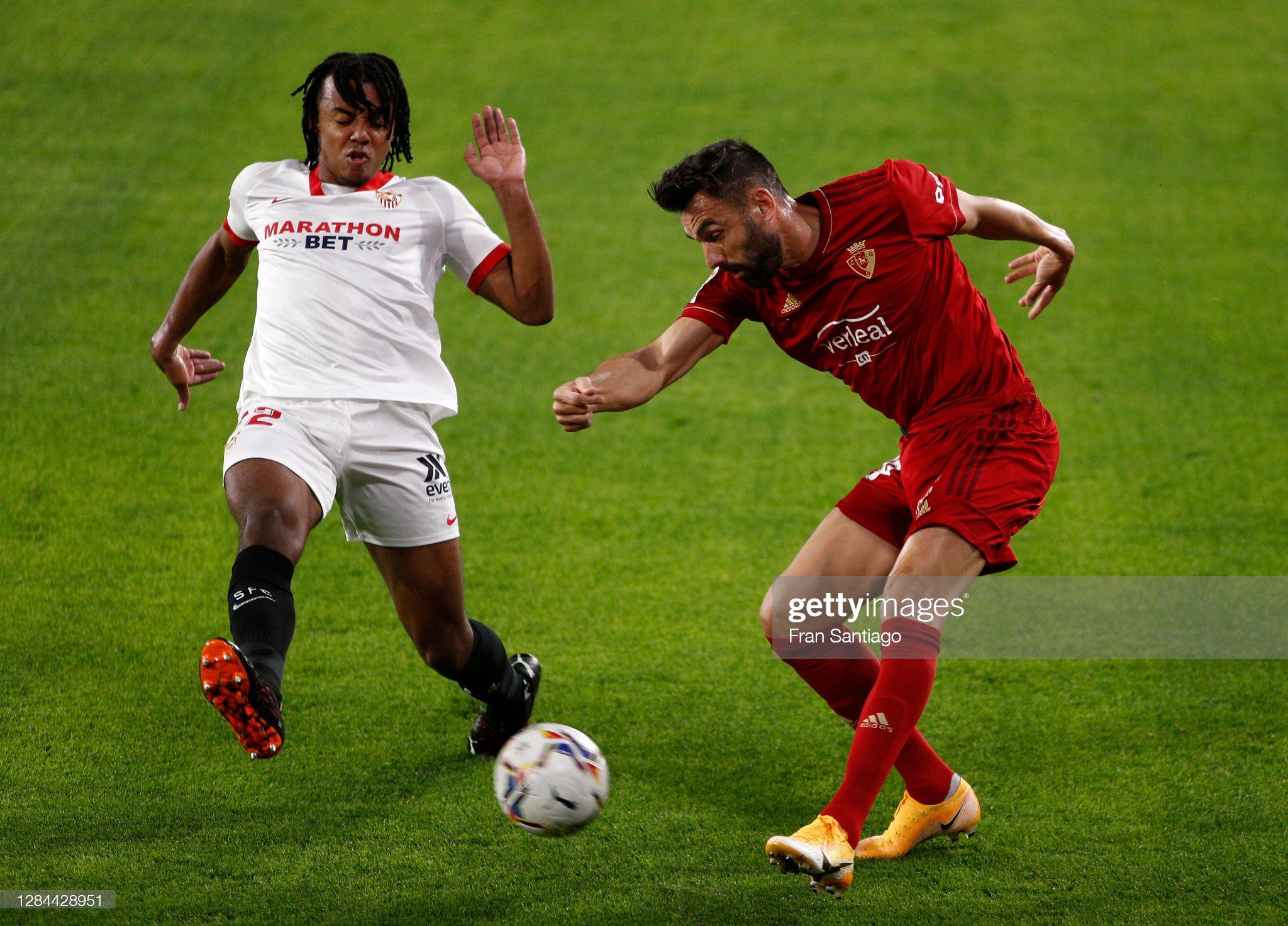 Sevilla FC v C.A. Osasuna - La Liga Santander : News Photo