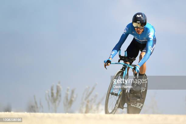Enric Mas of Spain and Movistar Team / during the 66th Vuelta a Andalucía - Ruta del Sol 2020, Stage 5 a 13km Individual Time Trial from Mijas to...