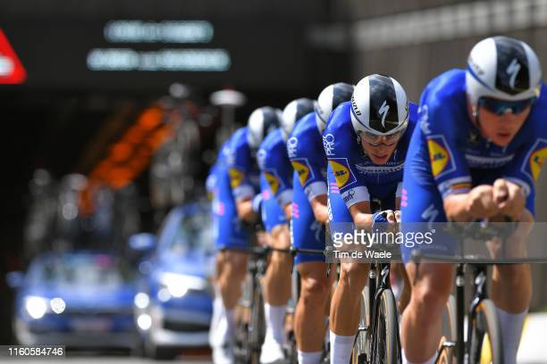 Enric Mas of Spain and Team Deceuninck QuickStep / during the 106th Tour de France 2019 Stage 2 a 276 Team Time Trial stage from Bruxelles Palais...