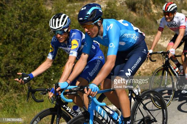 Enric Mas of Spain and Team Deceuninck - Quick-Step / Marc Soler of Spain and Movistar Team / during the 99th Volta Ciclista a Catalunya 2019, Stage...