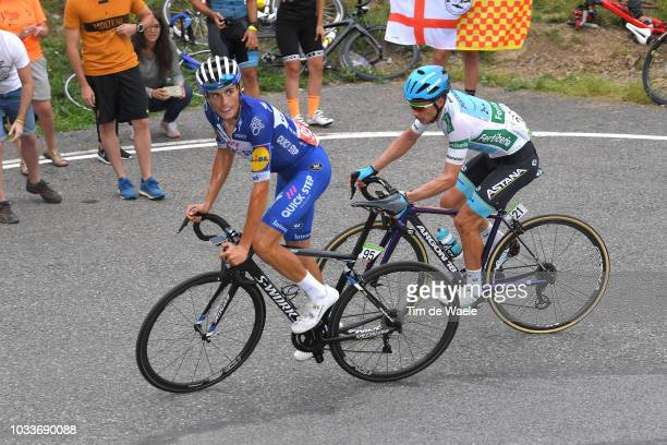 Enric Mas of Spain and Team QuickStep Floors / Miguel Angel Lopez of Colombia and Astana Pro Team White Combined Jersey / during the 73rd Tour of...