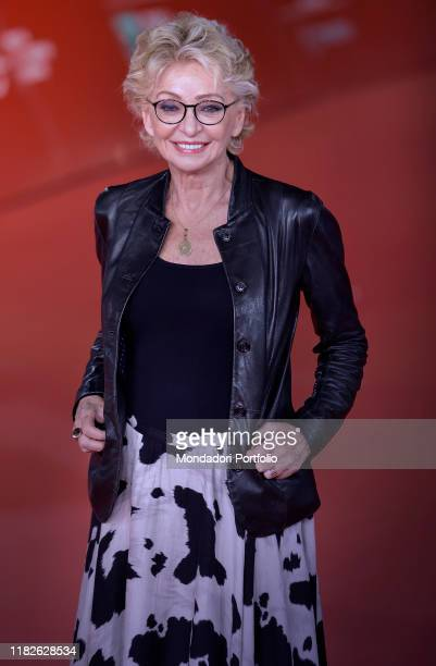 Enrica Bonaccorti at Rome Film Fest 2019 Rome October 21st 2019