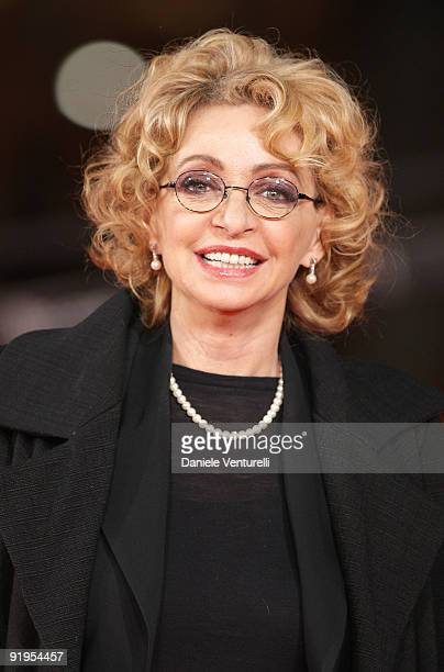 Enrica Bonaccorti attends The City Of Your Final Destination Premiere during day 2 of the 4th Rome International Film Festival held at the Auditorium...