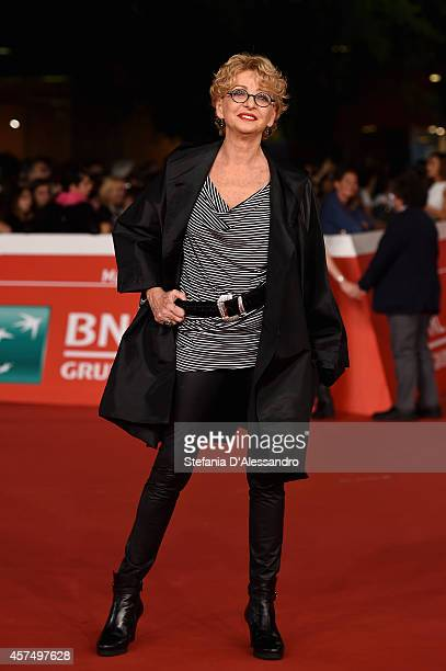 Enrica Bonaccorti attends the 'I Milionari' Red Carpet during the 9th Rome Film Festival on October 19 2014 in Rome Italy