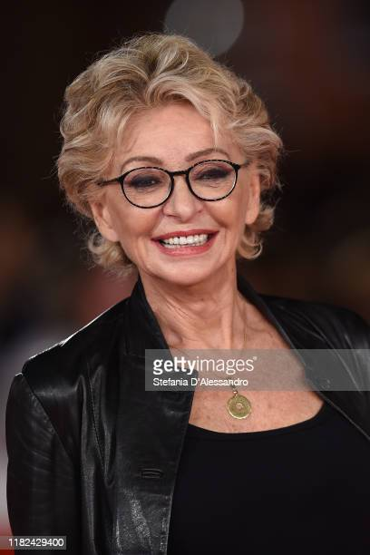 Enrica Bonaccorti attends the Il Ladro Di Giorni red carpet during the 14th Rome Film Festival on October 20 2019 in Rome Italy