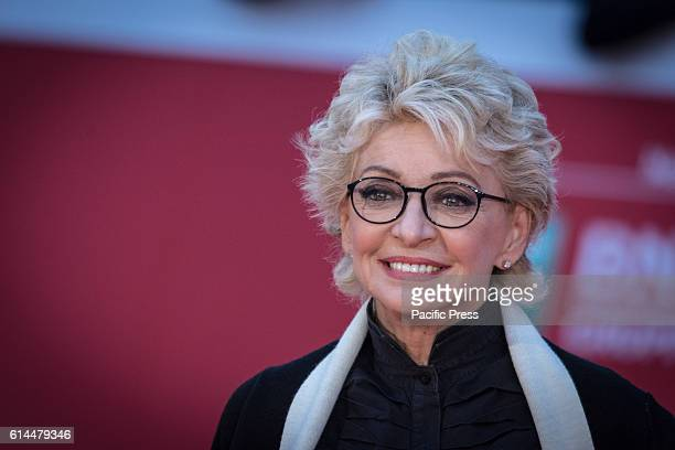 Enrica Bonaccorti during the Film Festival Eleventh Edition Red carpet with Moonlight