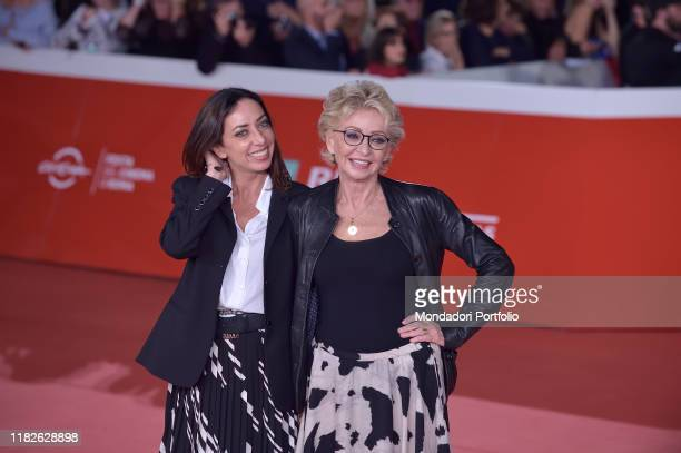 Enrica Bonaccorti Verdiana Pettinari at Rome Film Fest 2019 Rome October 21st 2019