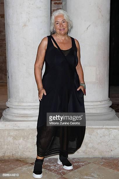 Enrica Fico Antonioni attends Miu Miu Women's Tales Dinner during the 73rd Venice Film Festival at Ca' Corner della Regina on September 1 2016 in...