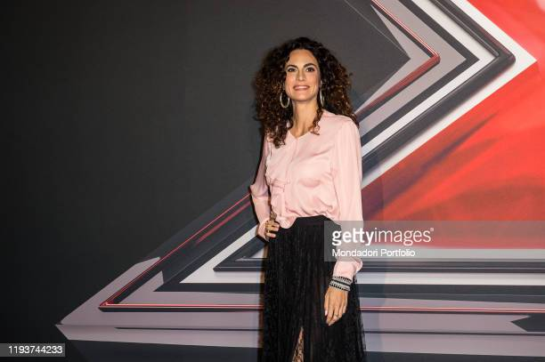 Enrica Guidi attends at the photocall of the final of X Factor Italia at Mediolanum forum in Milan Milan December 12th 2019