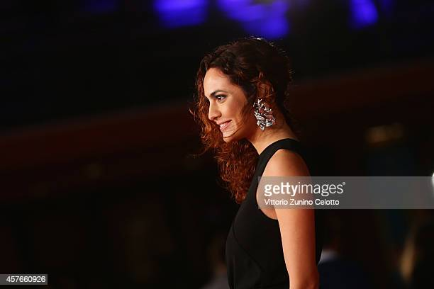 Enrica Guidi attends the 'Fino A Qui Tutto Bene' Red Carpet during the 9th Rome Film Festival on October 22 2014 in Rome Italy