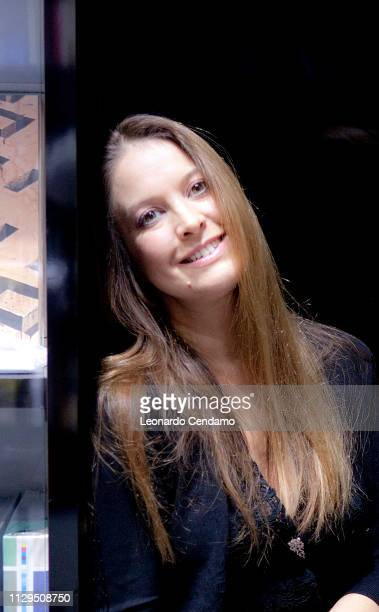 Enrica Roddolo Italian writer Mantova Italy 12th February 2012