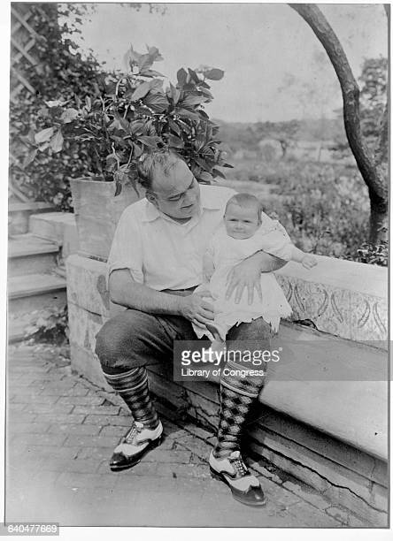 Enrico Caruso and Son August 13 1920