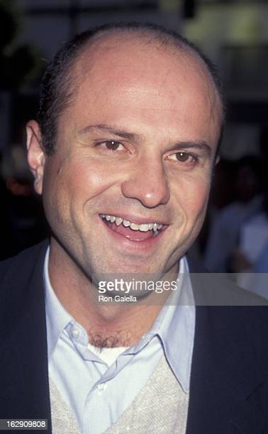 """Enrico Colantoni attends the world premiere of """"Mortal Kombat"""" on August 16, 1995 at Mann Chinese Theater in Hollywood, California."""