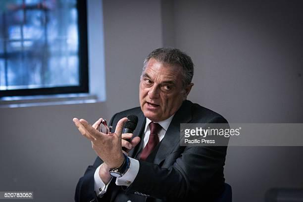 Enrico Colombi during Virginia Raggi meets entrepreneurs of CNA