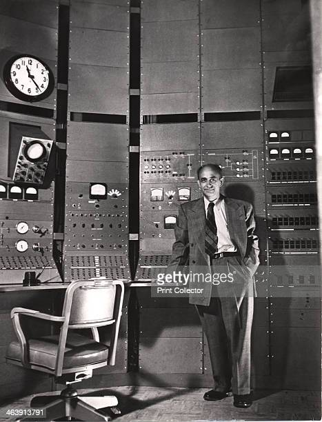 Enrico Fermi Italianborn American nuclear physicist c1942 Fermi constructed the first working nuclear reactor in a squash court at the University of...