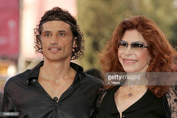 Enrico Lo Verso and Ida Di Benedetto during 2005 Venice Film Festival Opening Night Ceremony and Seven Swords Premiere at Sala Grande in Venice Lido...