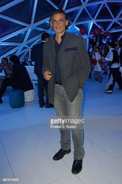 Enrico Lo Verso attends the Party Lanterna Di Fuksas during the 9th Rome Film Festival on October 19 2014 in Rome Italy