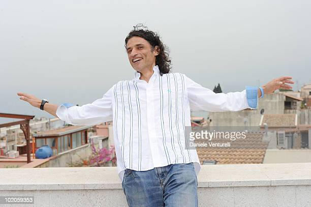 Enrico Lo Verso attends the Taormina Film Fest 2010 Photocall on June 14 2010 in Taormina Italy