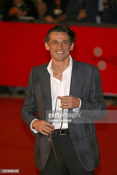 Enrico Lo Verso during 1st Annual Rome Film Festival Alatriste Premiere at Auditorium Parco della Musica in Rome Italy