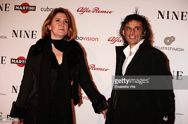 Enrico Loverso attends the Rome screening of 'NINE' cohosted by Martini at the Auditorium Conciliazione on January 13 2010 in Rome Italy