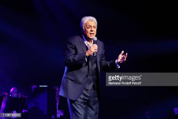 Enrico Macias performs for Enrico Macias 80th Anniversary at L'Olympia on February 10 2019 in Paris France