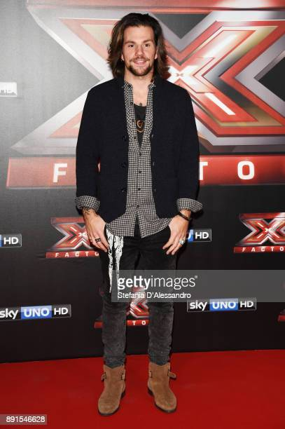Enrico Nigiotti attends the X Factor 11 Finale press conference on December 13 2017 in Milan Italy