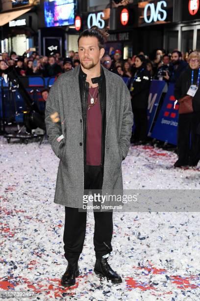 Enrico Nigiotti walks the red carpet of the 69 Sanremo Music Festival Preview at Teatro Ariston on February 04 2019 in Sanremo Italy