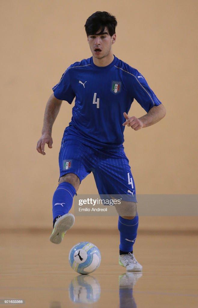 Italy U19 v Serbia U19 - Futsal International Friendly : Foto di attualità