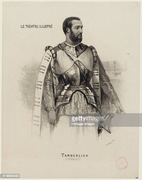 Enrico Tamberlik as Otello in opera Otello by Giuseppe Verdi 18681870 Found in the collection of Bibliothèque Nationale de France