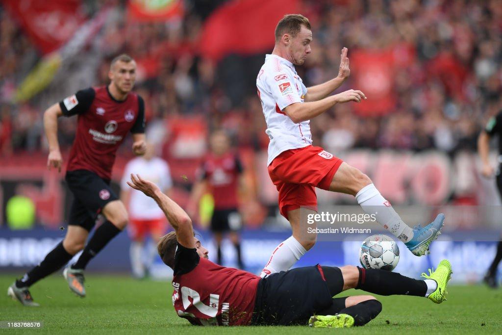 1. FC Nürnberg v SSV Jahn Regensburg - Second Bundesliga : News Photo