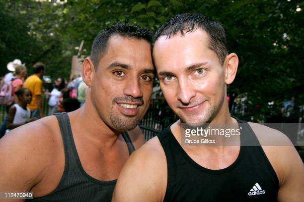 Enrico Vega and Frederick Ford during Wigstock Festival 2005 at Tompkins Square Park in New York City, New York, United States.