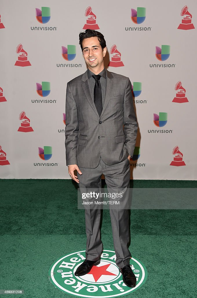 Enrique Arbelaez attends the 15th Annual Latin GRAMMY Awards at the MGM Grand Garden Arena on November 20, 2014 in Las Vegas, Nevada.