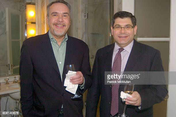 Enrique Arrue and Howard Hyde attend MICHAEL S SMITH AGRARIA COLLECTION LAUNCH at Lowell Hotel on April 18 2007