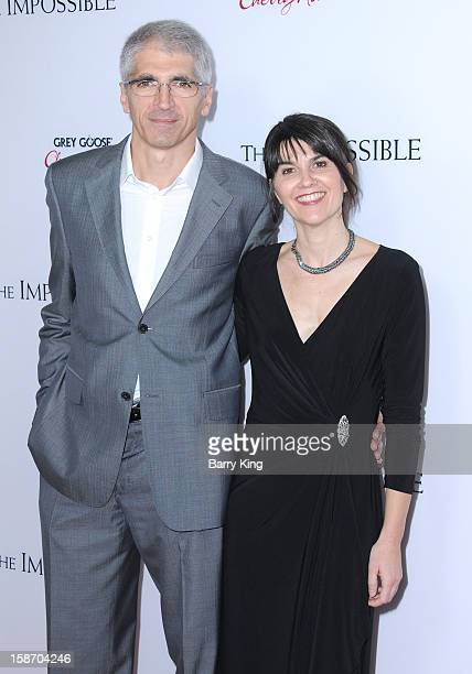 Enrique Belon & producer Maria Belon arrive at the Los Angeles premiere of 'The Impossible' held at ArcLight Cinemas Cinerama Dome on December 10,...
