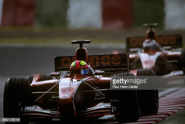 Enrique Bernoldi Jos Verstappen ArrowsAsiatech A22 Grand Prix of Japan Suzuka Circuit 14 October 2001