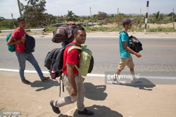 Enrique Bravo Yolfrank Colmenarez Jose Cordoba and Luis Alejos who where born in Yaracuy cross the border to Colombia in Arauca 17 days ago Now the...