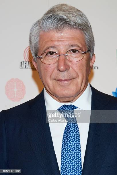 Enrique Cerezo attends a charity dinner by Querer Foundation at the Villamagna hotel on November 7 2018 in Madrid Spain