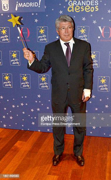 Enrique Cerezo attends the 2nd edition of 'Grandes Deseos' Auction for Pequeno Deseo Foundation on October 17 2013 in Madrid Spain