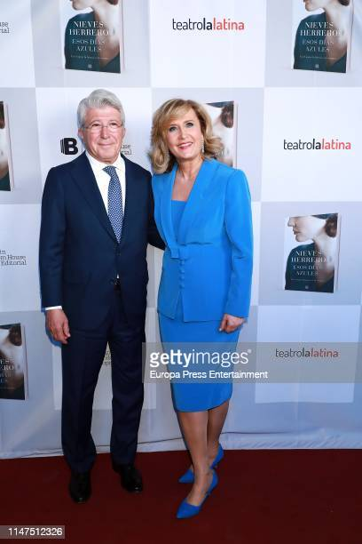 Enrique Cerezo attends the Esos ojos azules photocall at Teatro La Latina on May 06 2019 in Madrid Spain