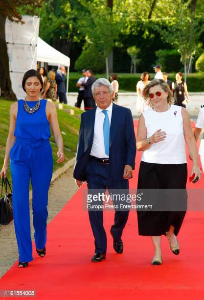 Enrique Cerezo attends the French National Day celebration at France Embassy on July 11 2019 in Madrid Spain