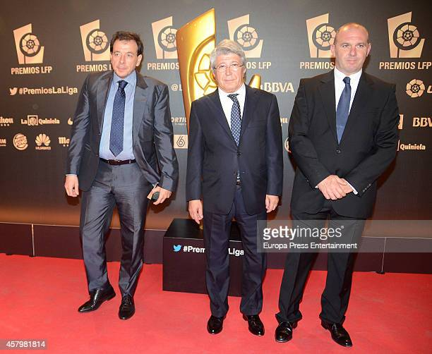 Enrique Cerezo attends the LFP Awards Gala 2014 on October 27 2014 in Madrid Spain