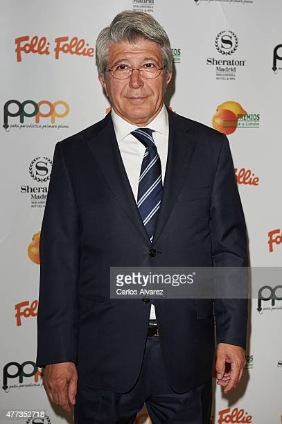 Enrique Cerezo attends the Naranja y Limon awards 2015 at the Sheraton Hotel on June 16 2015 in Madrid Spain