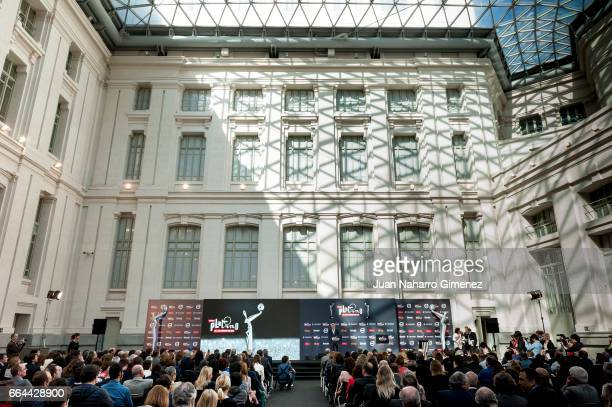 Enrique Cerezo attends the 'Platino Awards 2017' presentation at the Madrid City Hall on April 4 2017 in Madrid Spain