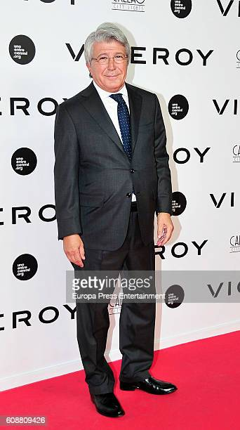 Enrique Cerezo attends the premiere of 'Soy Uno Entre Cien Mil' directed by Penelope Cruz at Callao cinema on September 19 2016 in Madrid Spain