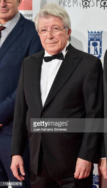 Enrique Cerezo attends the red carpet during 'Jose Maria Forque Awards' 2020 at Ifema on January 11 2020 in Madrid Spain