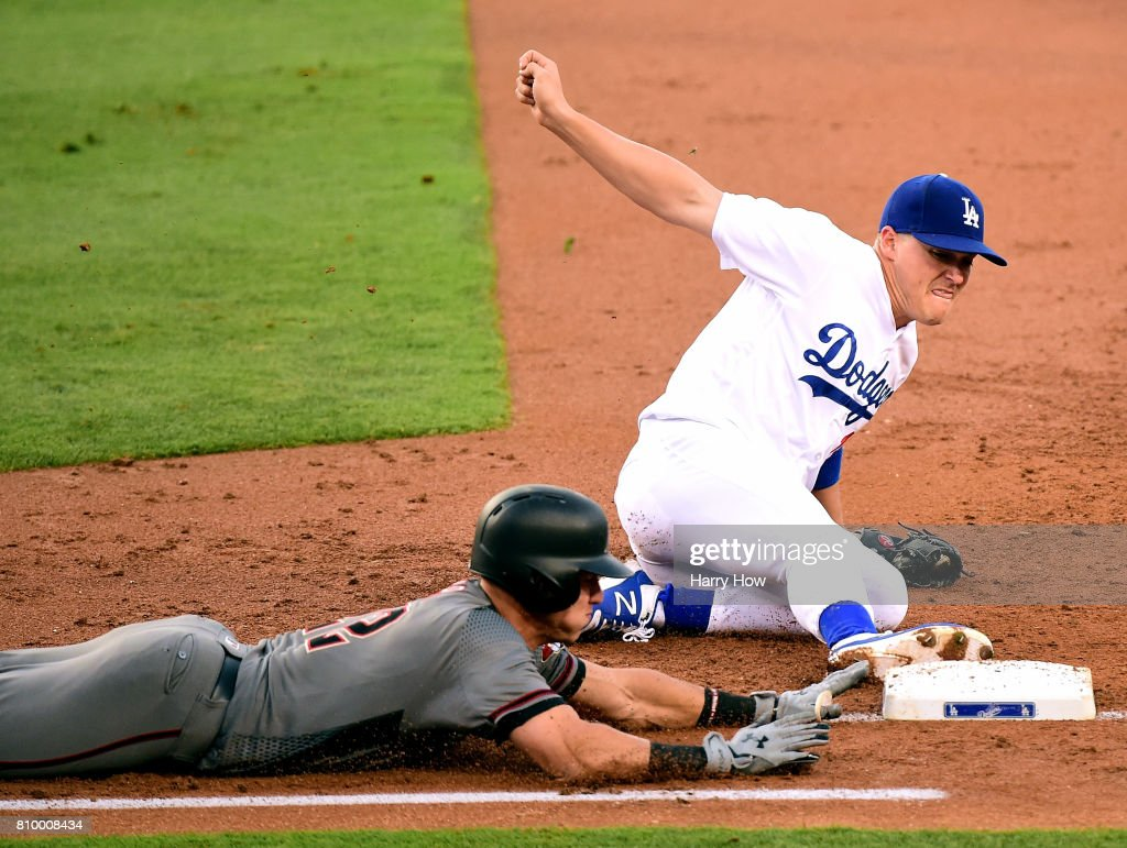 Arizona Diamondbacks v Los Angeles Dodgers