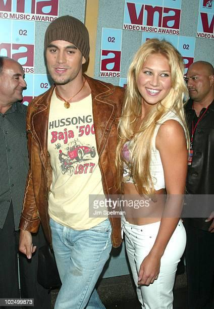 Enrique Iglesias and Anna Kournikova