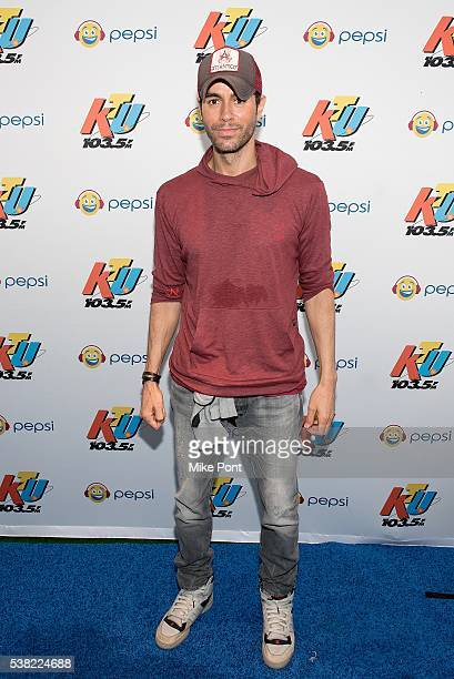 Enrique Iglesias attends 1035 KTU's KTUphoria 2016 at Nikon at Jones Beach Theater on June 4 2016 in Wantagh New York