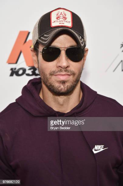 Enrique Iglesias attends 1035 KTU's KTUphoria on June 16 2018 in Wantagh City